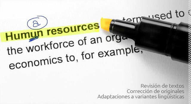 empresa revision y correccion de traducciones