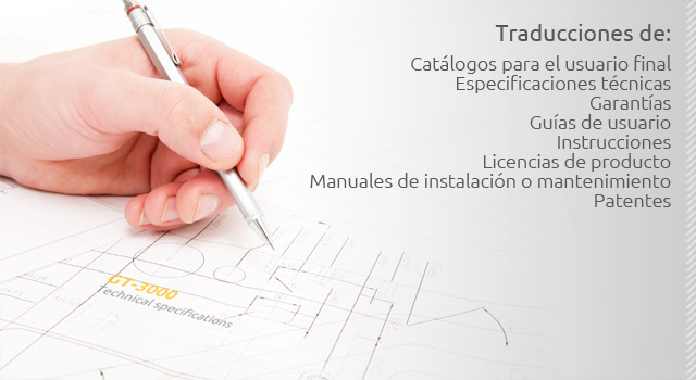 traducciones de catalogos de instrucciones