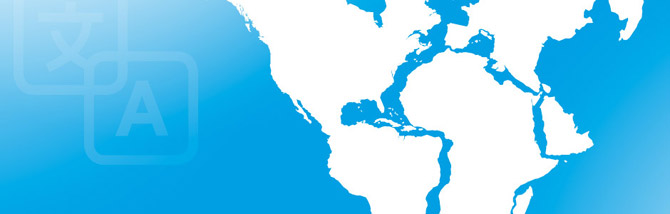 Planet Lingua - World map