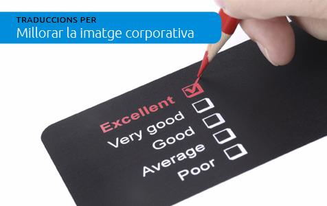 Traduccions per a millorar la imatge corporativa