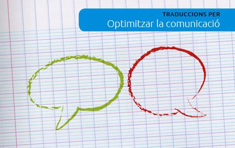 Traduccions per a optimitzar la comunicació