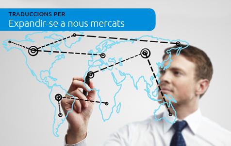 Traduccions per a expandir-se a nous mercats