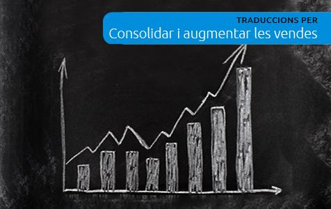 Traduccions per a consolidar i augmentar les vendes.