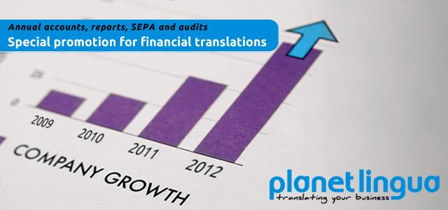 Traducción de balances, traduccion de cuentas anuales, traduccion financiera