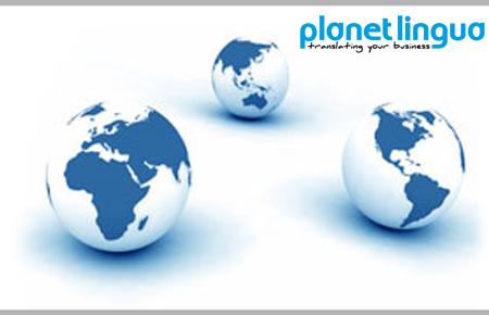 servicios de traduccion de paginas web, planet lingua
