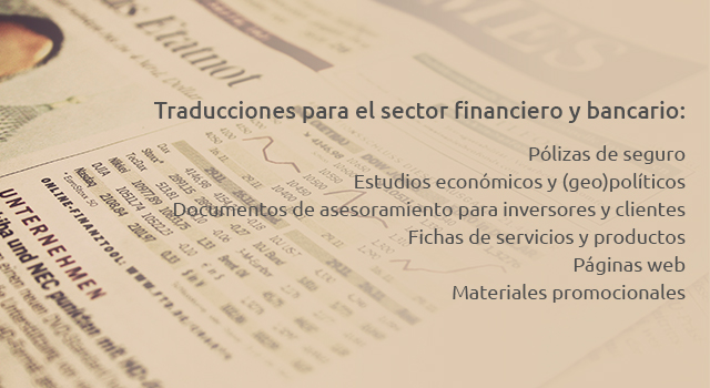 traduccion financiera madrid, traducciones financieras madrid