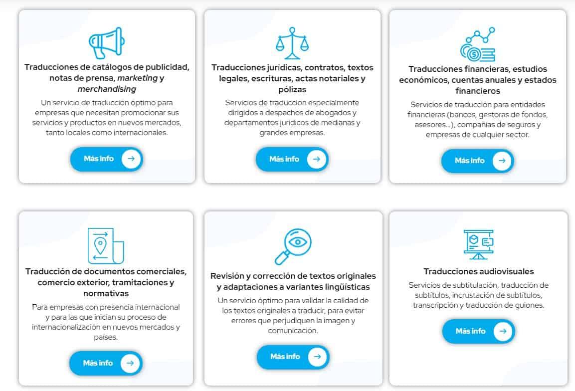 servicios agencia traduccion madrid, agencias traducción madrid